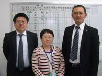 中央は事務局の相澤さん