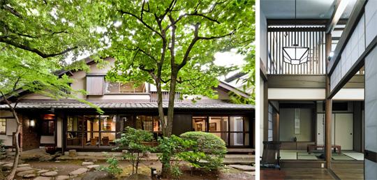 【代表的な作品】画家 向井潤吉邸・・・創業者佐藤秀三の設計で昭和37年に竣工。現在は世田谷美術館分館「向井潤吉アトリエ館」として一般公開されています。