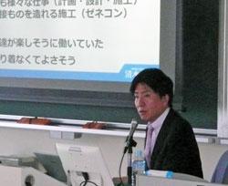 講師の岡野さん